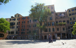 Campo del Ghetto Novo in Venice