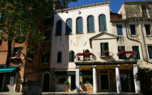 The Italian synagogue in the Jewish ghetto of Venice