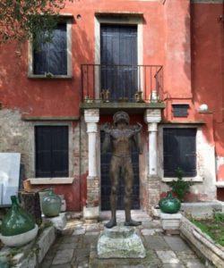 The house of artist Remigio Barbaro in Burano
