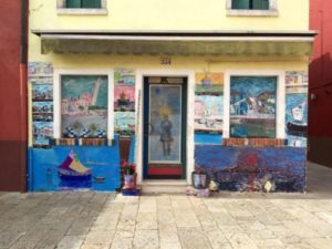 Painted house in Burano