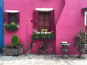 Colourful house in Burano