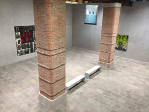 """Works by Gilbert and George in the """"cube"""" by And at Punta della Dogana"""