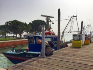 Fishing boats in Burano