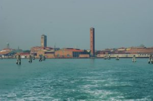View of the island of Murano