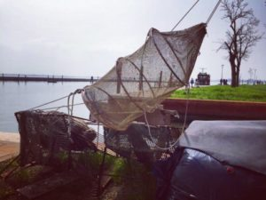 Fishing net in Burano