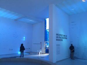 Interior of the Dutch Pavilion at Giardini della Biennale, Venice
