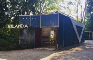 Finland Pavilion by Alvar Aalto at Giardini della Biennale, Venice