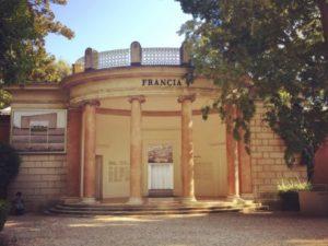 The French Pavilion in the Giardini della Biennale, Venice