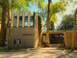 Venezuela Pavilion by Carlo Scarpa at the Giardini della Biennale, Venice