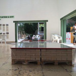 Interior of the German Pavilion at the Giardini della Biennale, Venice