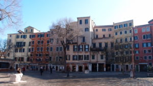 View of the Jewish ghetto in Venice