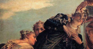 Detail of the Coronation of Esther by Paolo Veronese