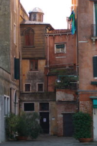 Canton syagogue in the Jewish ghetto of Venice