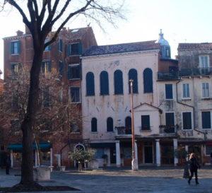 Italian synagogue in the Jewish ghetto of Venice