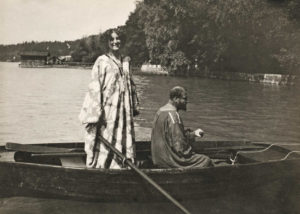 Gustav Klimt and Emilie Flöge in 1910
