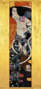 Judith 2 by Gustav Klimt in the Museum of Modern Art in Ca' Pesaro, Venice