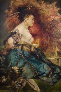 """The Japanese Girl"" by Hans Makart"