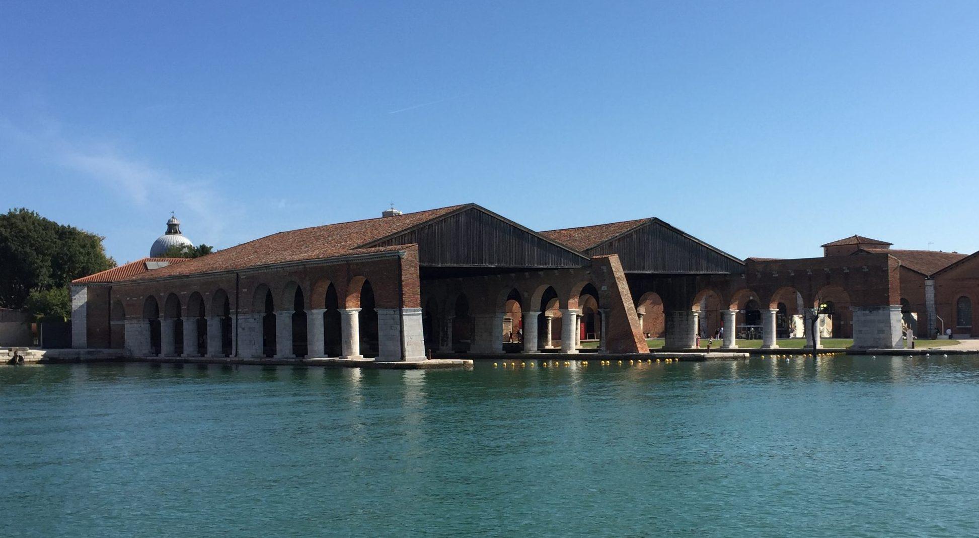 the Gaggiandre in the Arsenale of Venice